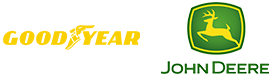 home clients goodyear and john deere